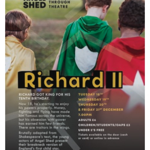 Angel Shed Theatre Company - What's On?
