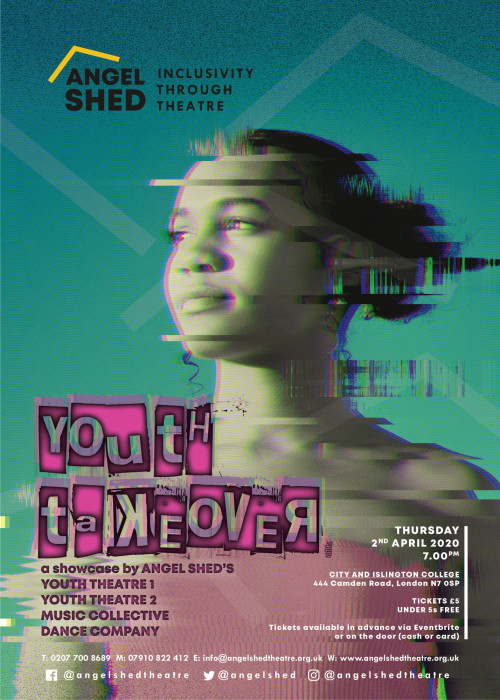 Angel Shed Youth Takeover poster